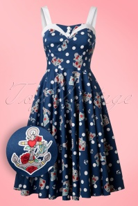 Bunny Oceana 50s Swing Dress 102 39 21068 20170202 0011W1