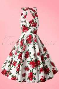 Bunny Halter Swing Dress with Roses 102 59 10972 20140616 0007