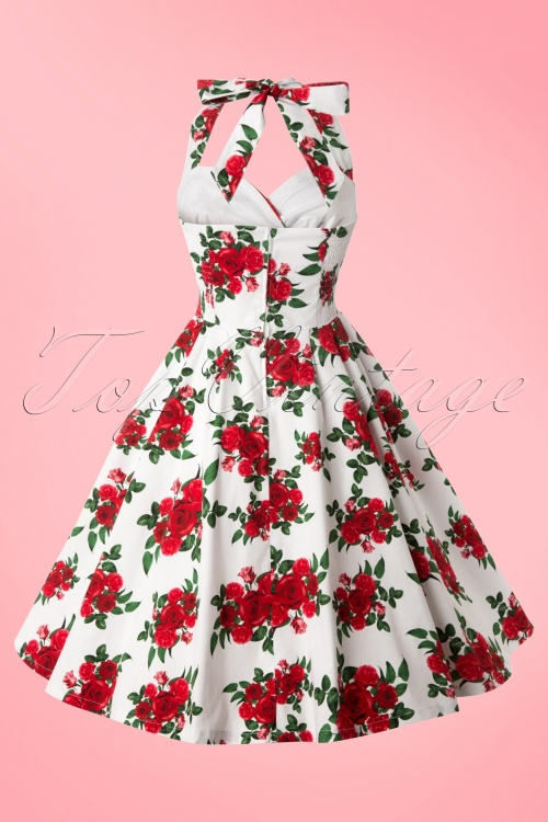 e56b2165416f Bunny Halter Swing Dress with Roses 102 59 10972 20140616 0006w