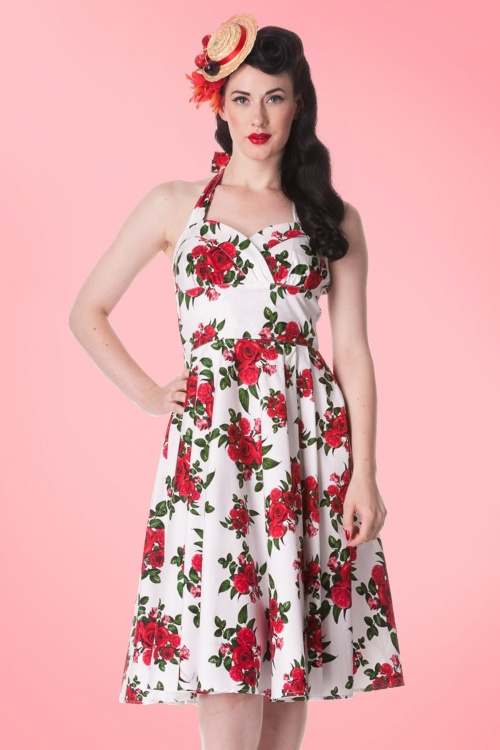 dd260849f817 Bunny Halter Swing Dress with Roses 102 59 10972 20140616 0004a