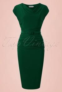 Zoe Vine Billie Green Pencil Dress 100 40 20151 20170203 0025w