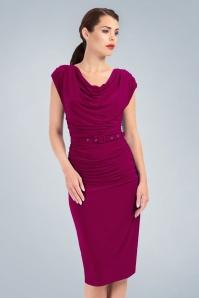 Zoe Vine Billie Purple Pencil Dress 100 22 20150 20170203 0028