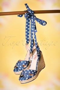 Dancing Days by Banned Blue Poppie Sandal 420 39 20522 02062017 060W