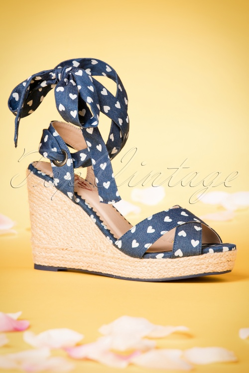 Dancing Days by Banned Blue Poppie Sandal 420 39 20522 02062017 033W