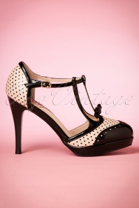 Dancing days by Banned Black Nude One Note Samba Pumps 401 29 20508 02062017 009W