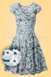 Blutsgeschwister Bloomy Pluckily Mary Foral Dress 102 59 19677 20170206 0002W1