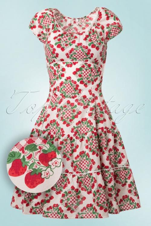 Blutsgeschwister Pluckily Mary Marmel Cherry Dress 102 59 19678 20170206 0006W1