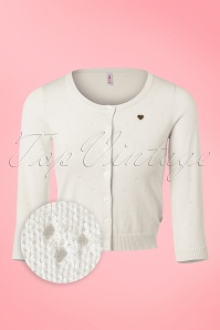 Blutsgeschwister Cardigan in Creme 140 50 19673 20170203 0004wv