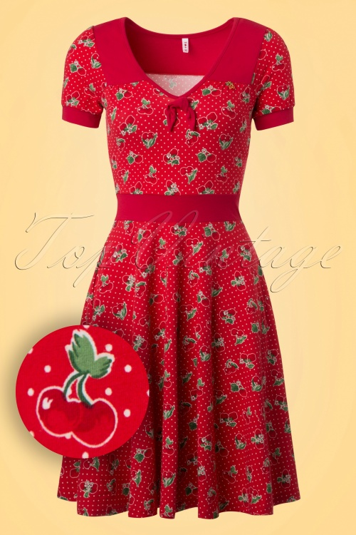 Blutsgeschwister Cherry Dress 102 27 19676 20170206 0002W1