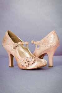 Ruby Shoo Yasmin Pumps in Rose Gold 402 29 19812 20170207 0013W