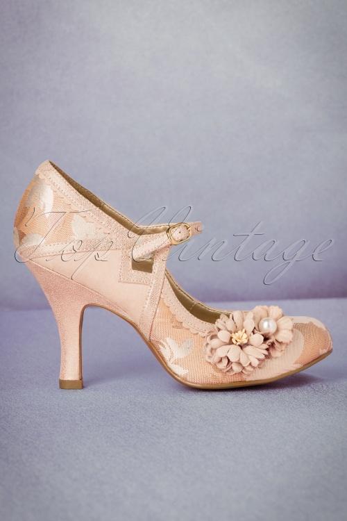 Ruby Shoo Yasmin Pumps in Rose Gold 402 29 19812 20170207 0007W