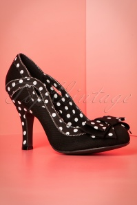 Ruby Shoo Ivy Black Pumps Polkadots 400 10 19803 20170207 0015W