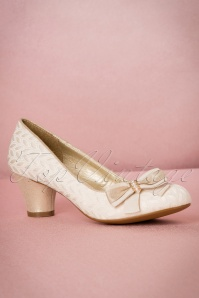 Ruby Shoo Lily Pumps in Cream 400 51 19816 20170207 0004W