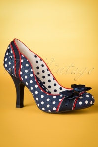Ruby Shoo Amy Pump Navy Spots 400 39 19807 20170207 0008w
