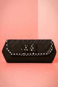 60s Brighton Clutch in Black