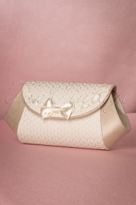 Ruby Shoo Palma Clutch in Cream 210 51 19826 20170207 0008W