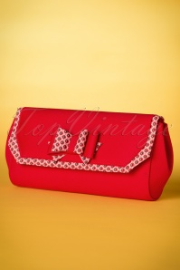 Ruby Shoo Brighton Clutch in Red 210 20 19824 20170207 0017w