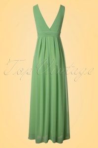 Traffic People Green Maxi Dress 108 40 19868 20170210 0007W