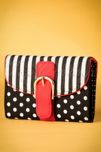 Ruby Shoo Garda Black and Red Wallet 220 14 19832 20170210 0016w
