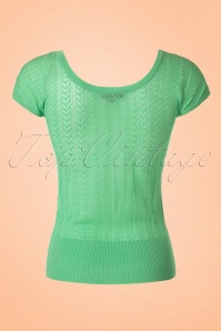 King Louie Lagoon Green Deep V Top 113 40 20254 20170213 0007W
