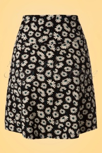 King Louie Border Skirt in Daisy Print 123 14 20281 20170213 0006W