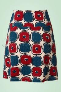 King Louie Border Skirt in Cream 123 57 20278 20170213 0006W