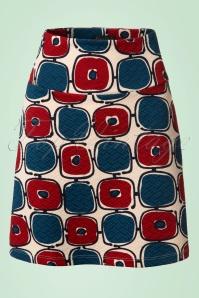 King Louie Border Skirt in Cream 123 57 20278 20170213 0002W