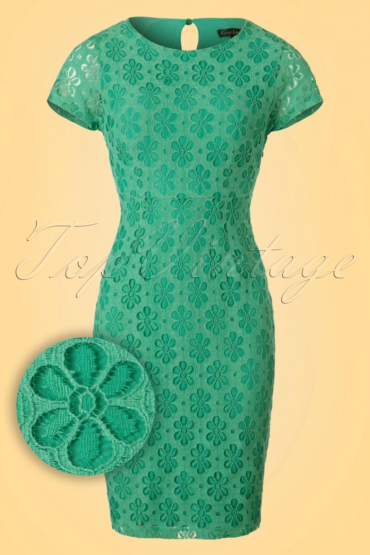 Groen jurkje king louie