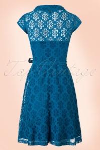 King Louie Emmy Blue Dress 102 30 20225 20170214 0011W