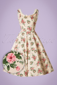 Collectif Clothing MAddison 40s Floral Swing Dress 20843 20161128 0013W1