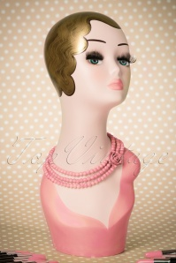 Collectif Clothing Multi Tier Rose Necklace 300 22 21189 020W