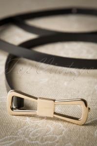 King Louie Belt Bow Black 230 10 19694 06W