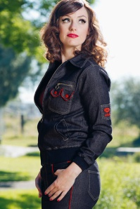 Mademoiselle Yeye Svana 70s Denim Jacket 19898 20161117 0026