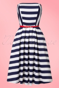 Dolly and Dotty Strapless Striped Swing Dress 102 59 20728 20170216 0013W