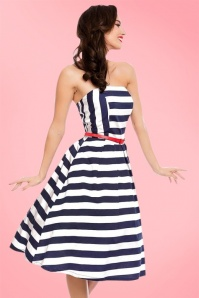 Dolly and Dotty Strapless Striped Swing Dress 102 59 20728 20170216 004