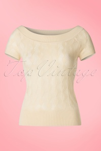 King Louie Boatneck Top in Cream 113 51 20197 20170119 0002w