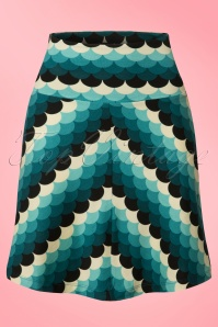 King Louie Border Skirt Dragonfly Blue 123 39 20199 20170109 0001w