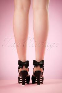 Lola Ramona Angie Black Sandal 403 10 19418 02152017 017W