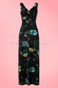 King Louie Ginger Maxi Floral Dress 108 14 20165 20170110 0003W