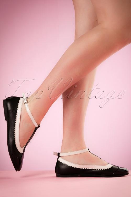 Lola Ramona Rinna Black Ballerinas 410 10 19408 02152017 001W