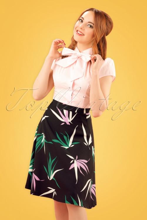 Mademoiselle Yeye Jane Skirt in Bamboo 19878 20161117 1geel W