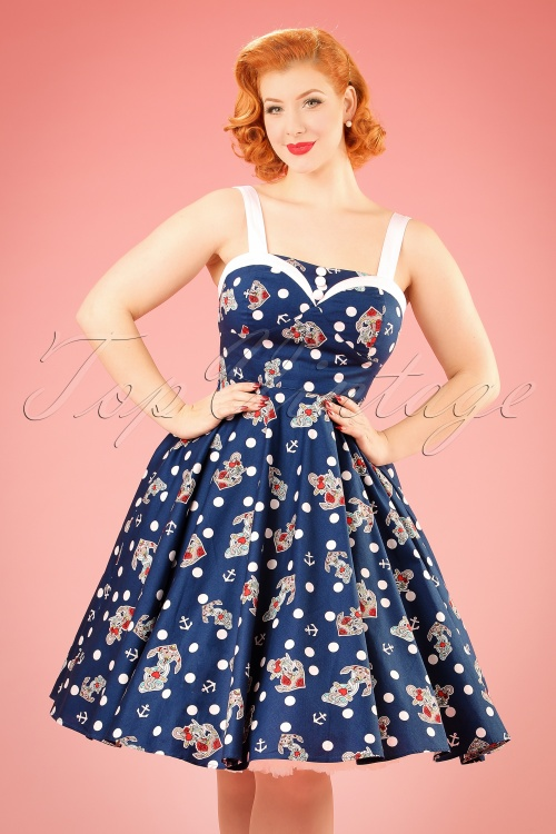 Bunny Oceana 50s Swing Dress 102 39 21068 20170202 0015W