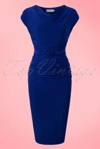 Zoe Vine Billie Blue Pencil Dress 100 30 20153 20170203 0025w