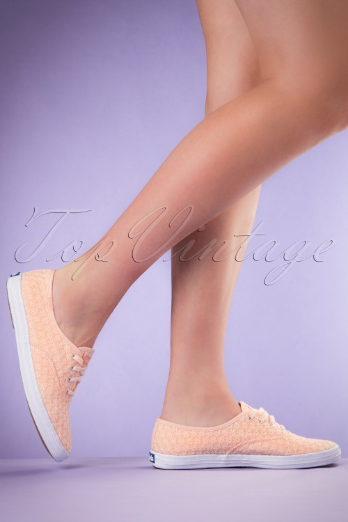 Keds Champion Pale Peach Sneakers 451 22 19544 02152017 011W