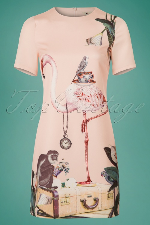 Yumi Flamingo Tunic Dress 106 29 20139 20170220 0004w