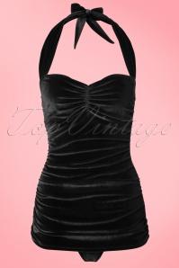 Girlhowdy Classic Black Velvet Bathing Suit 161 20 20855 20170217 0001