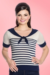Bunny Coco Top in Navy 113 39 21042 20170220 0008