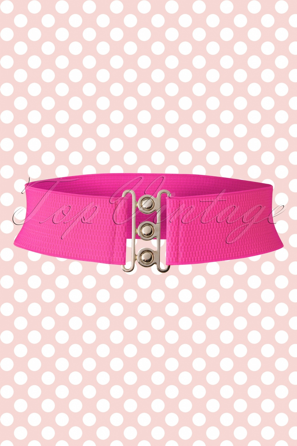 Vintage Wide Belts, Cinch Belts 50s Lauren Retro Stretch Belt in Hot Pink £7.12 AT vintagedancer.com