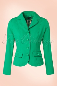 60s Blazer in Opal Green