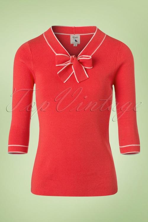 Yumi Sailor Jumper in Red 113 20 20147 20170220 0009w